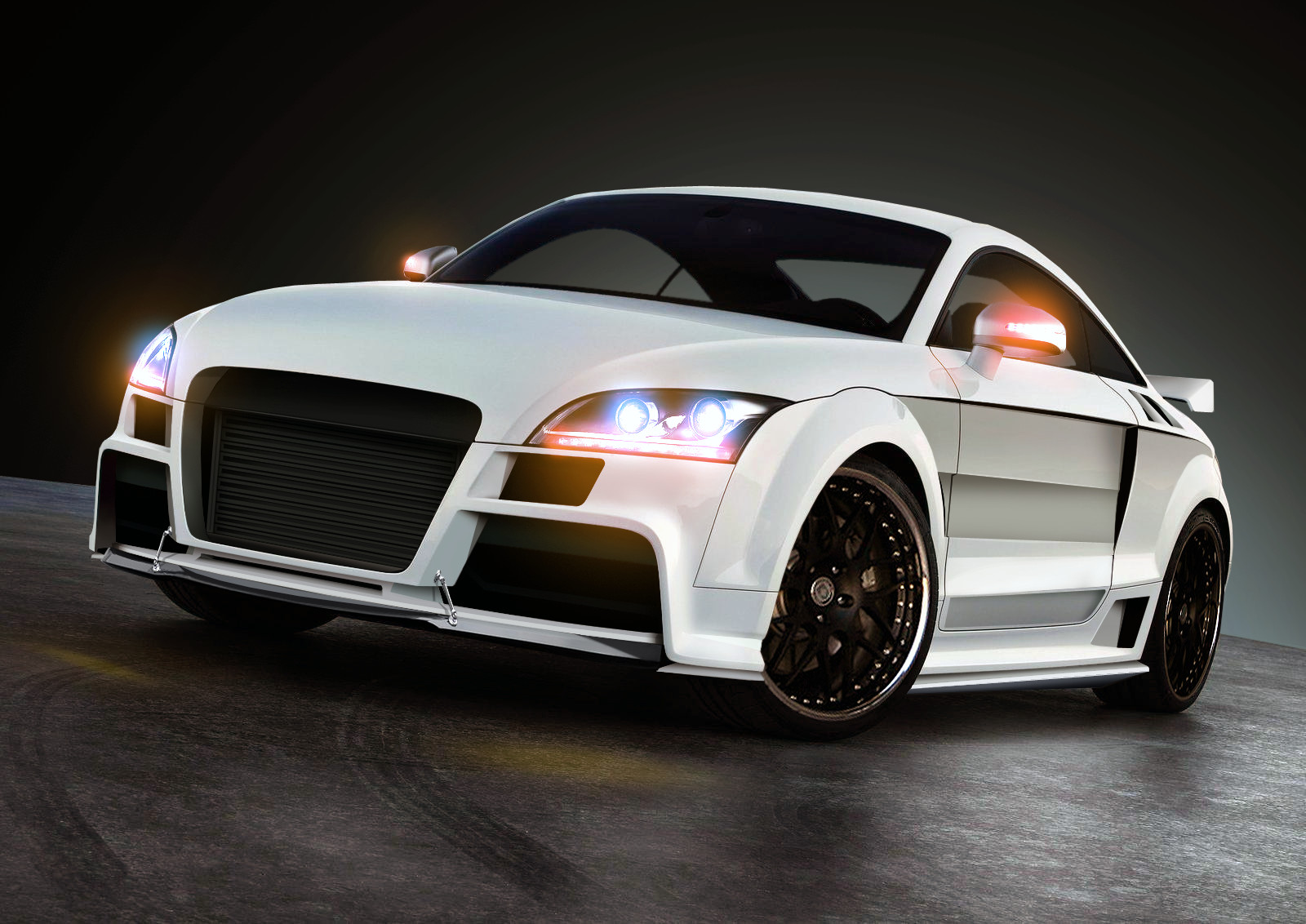 Audi tt rs HD Wallpaper Download 1600x1132