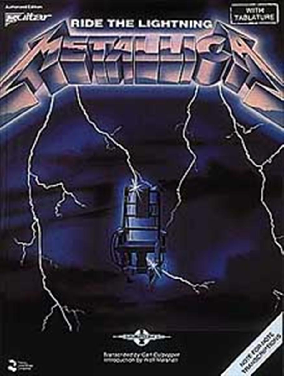 Metallica Ride the Lightning Album Cover 908x1200