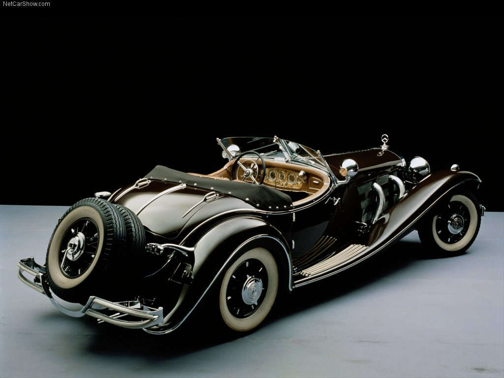 Mercedes 500 k ao 1934 la joya de la corona   Taringa 1024x768