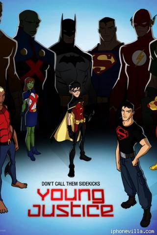 Download Of Young Justice   dedalpalace 320x480