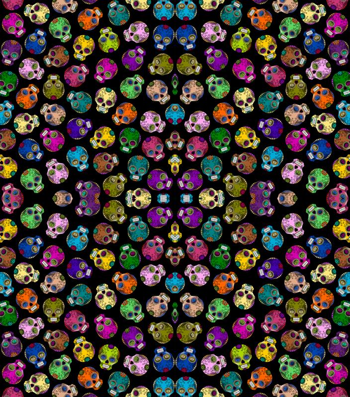 Pink Sugar Skull Wallpaper 704x800