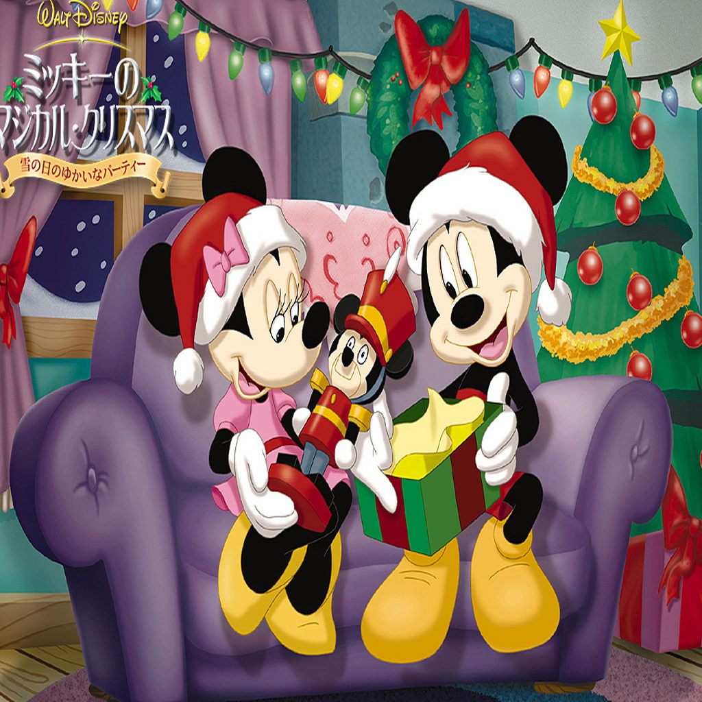 Free Download And Minnie Christmas Wallpaper Mickey Mouse Ipad