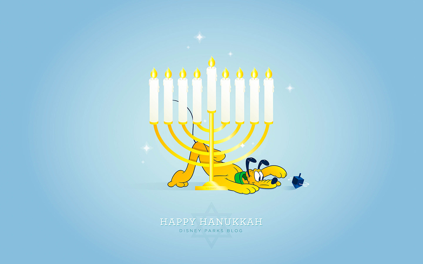 Celebrate Hanukkah with Our Latest Disney Parks Wallpaper Disney 1440x900