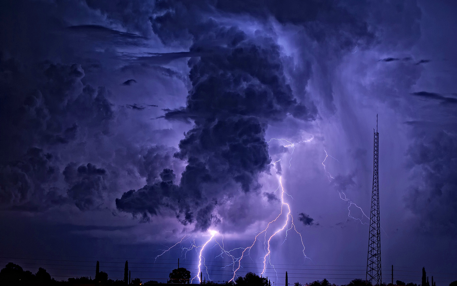 Cool Lightning Wallpapers - WallpaperSafari