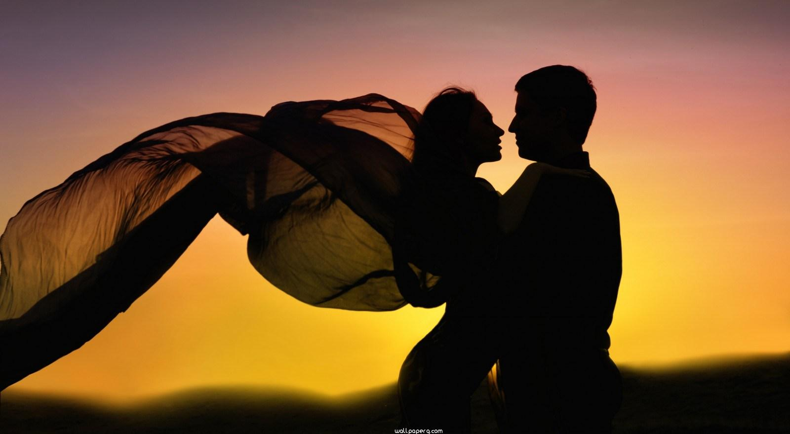 Download Romance couple dancing in love sunset   Romantic 1600x879