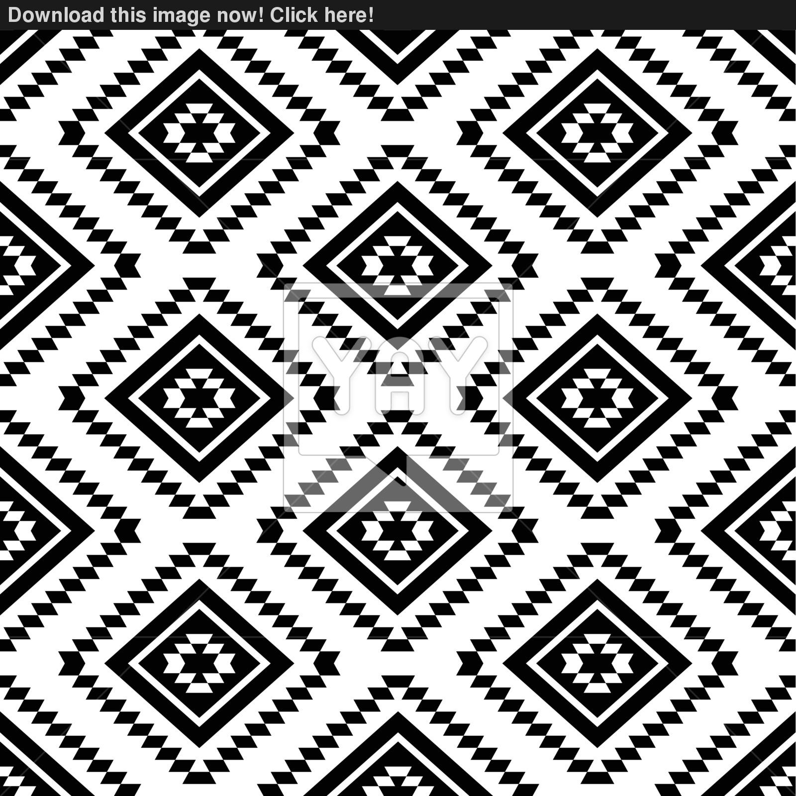 Aztec Wallpaper Black And White 1600x1600