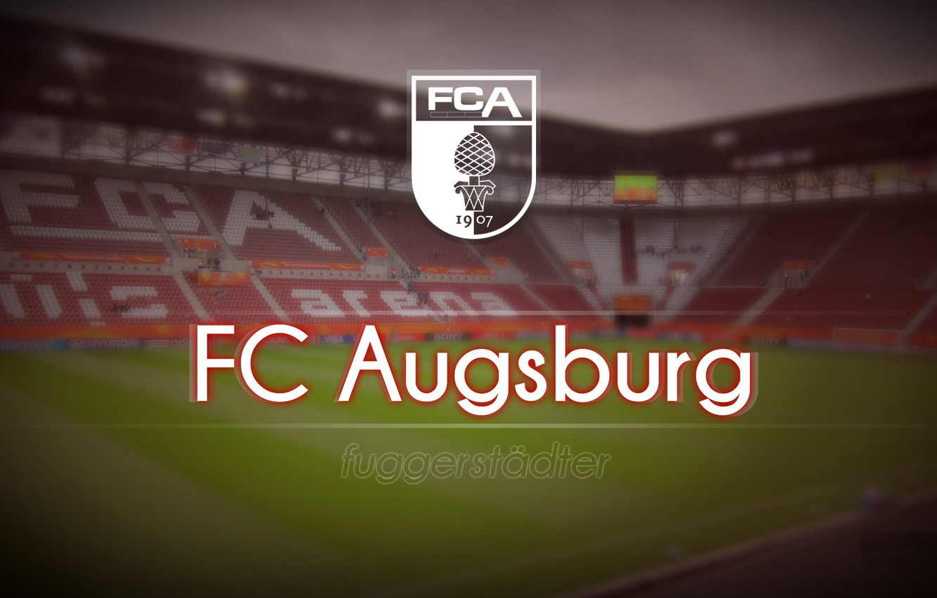 Wallpaper wallpaper sport logo stadium football FC Augsburg 1332x850