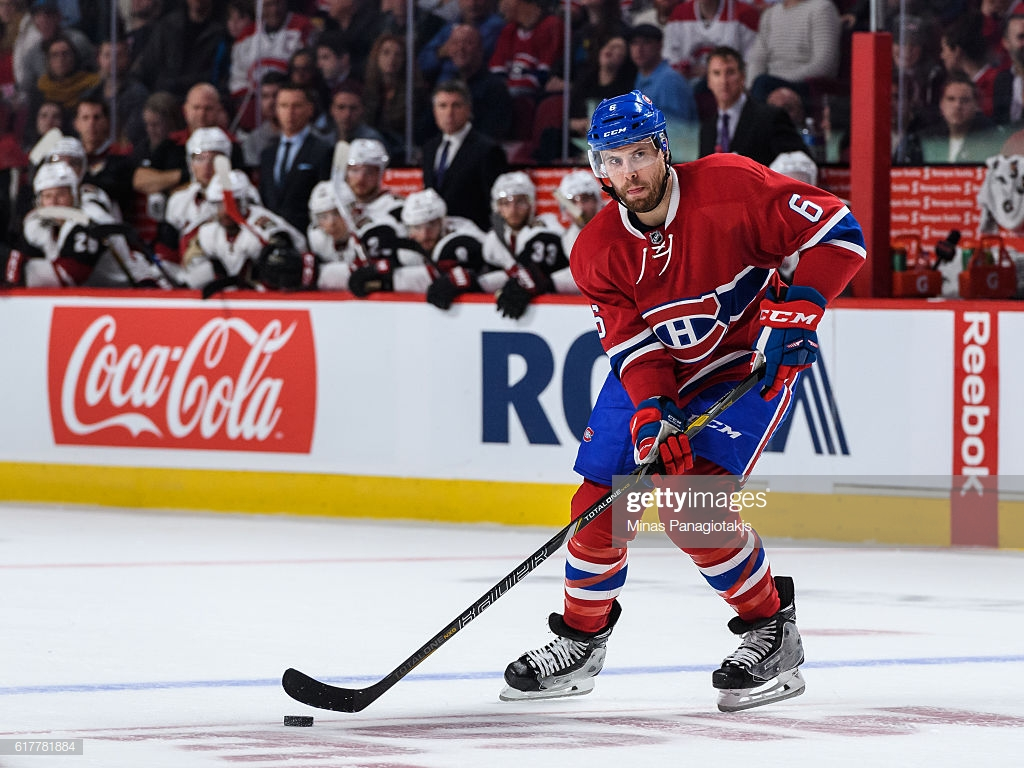Shea Weber of the Montreal Canadiens skates the puck during the 1024x768