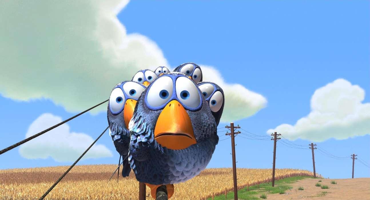 Download mobile wallpaper Cartoon Animals Birds 22036 1294x700