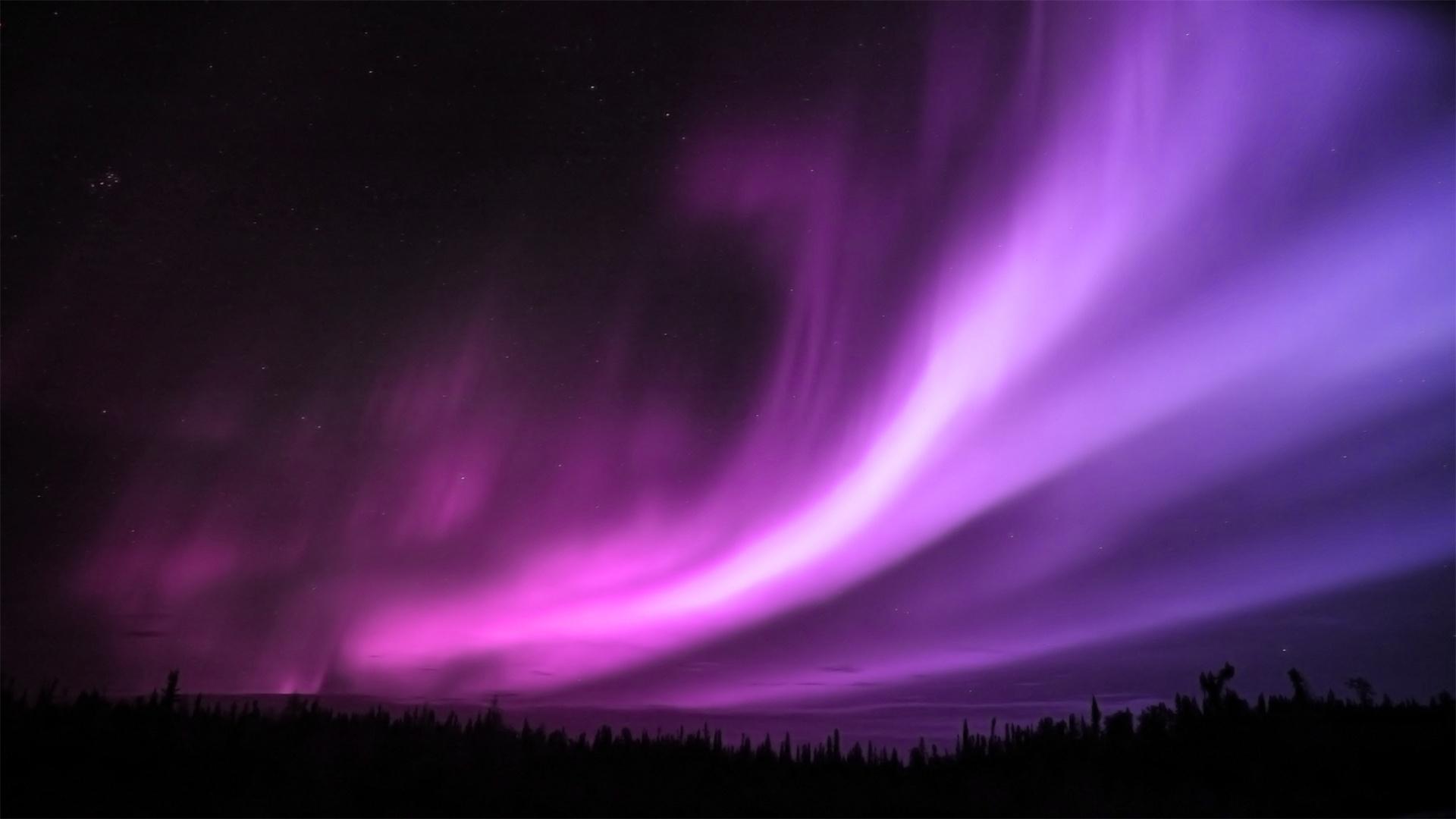 Purple Aurora Borealis Wallpapers | HD Wallpapers