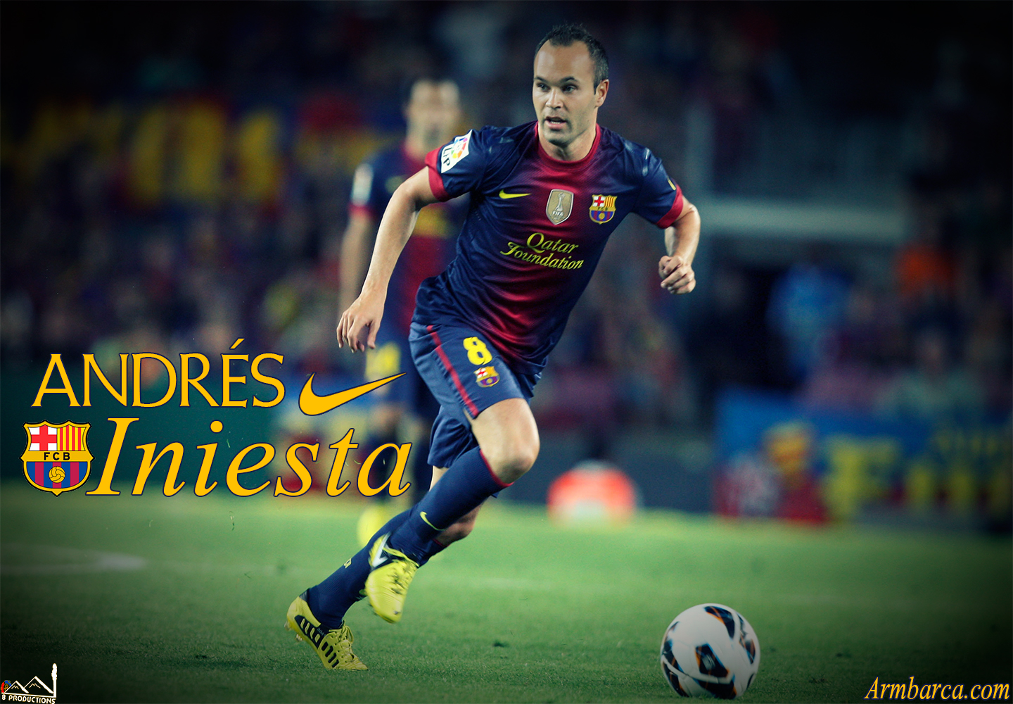 Andres Iniesta 2013 Wallpapers HD 1440x1000