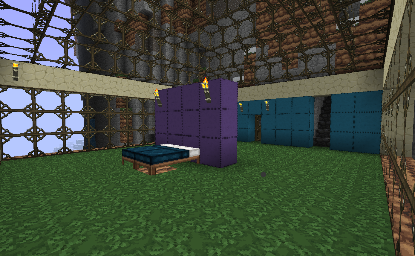 Vacation Keep Bedroom by kyidyl minecraft 1389x856
