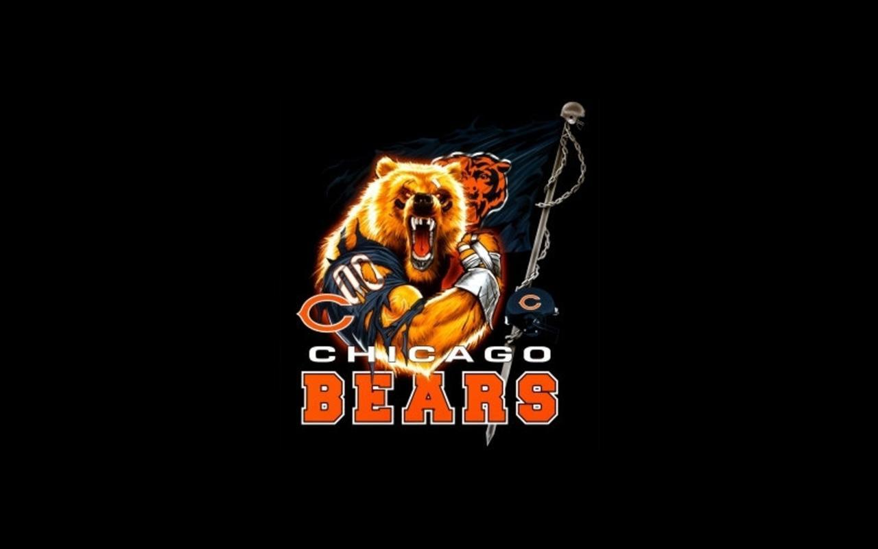 Chicago bears wallpaper 1280x800