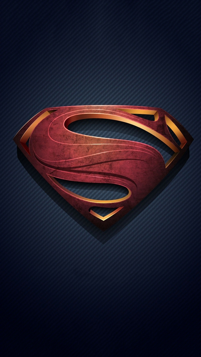 superman logo iphone 5 wallpaper   PCTechNotes PC Tips Tricks and 640x1136
