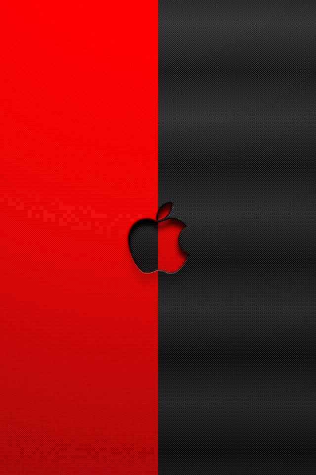 Black and Red iPhone Wallpaper - WallpaperSafari