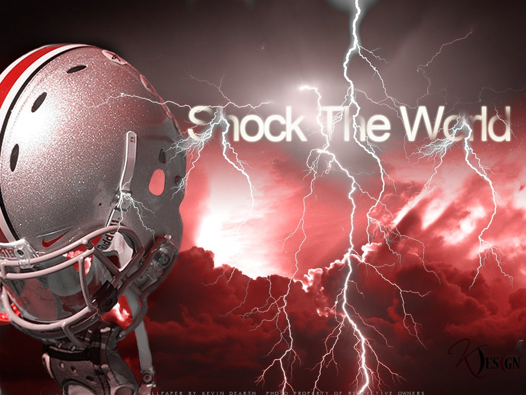 Buckeyes Shock The World Wallpaper by KevinsGraphics 1032x774