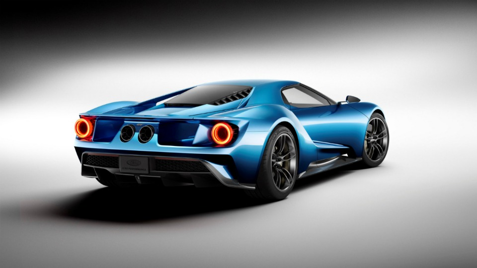 Supercar 2017 Ford GT Car wallpaper 960x540 960x540
