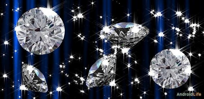 Rain of Diamonds LiveWallpaper v 13 705x345