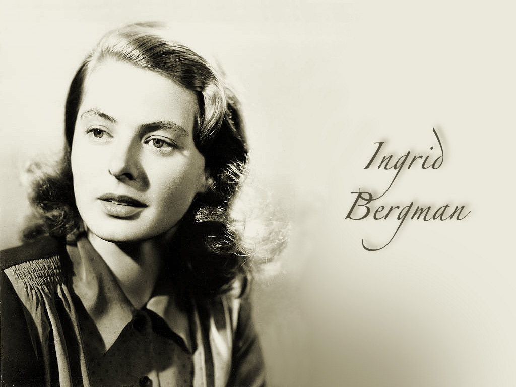 Ingrid Bergman images Ingrid Bergman HD wallpaper and background 1024x768