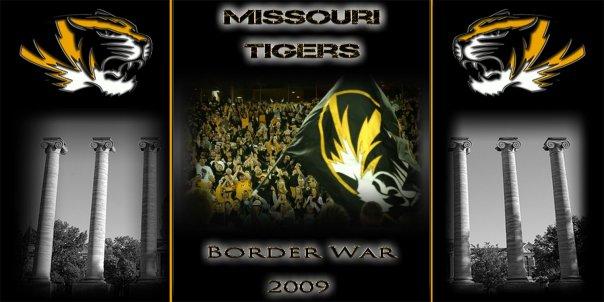 Missouri Tigers Border War 2009 by kellyjgoines 604x302