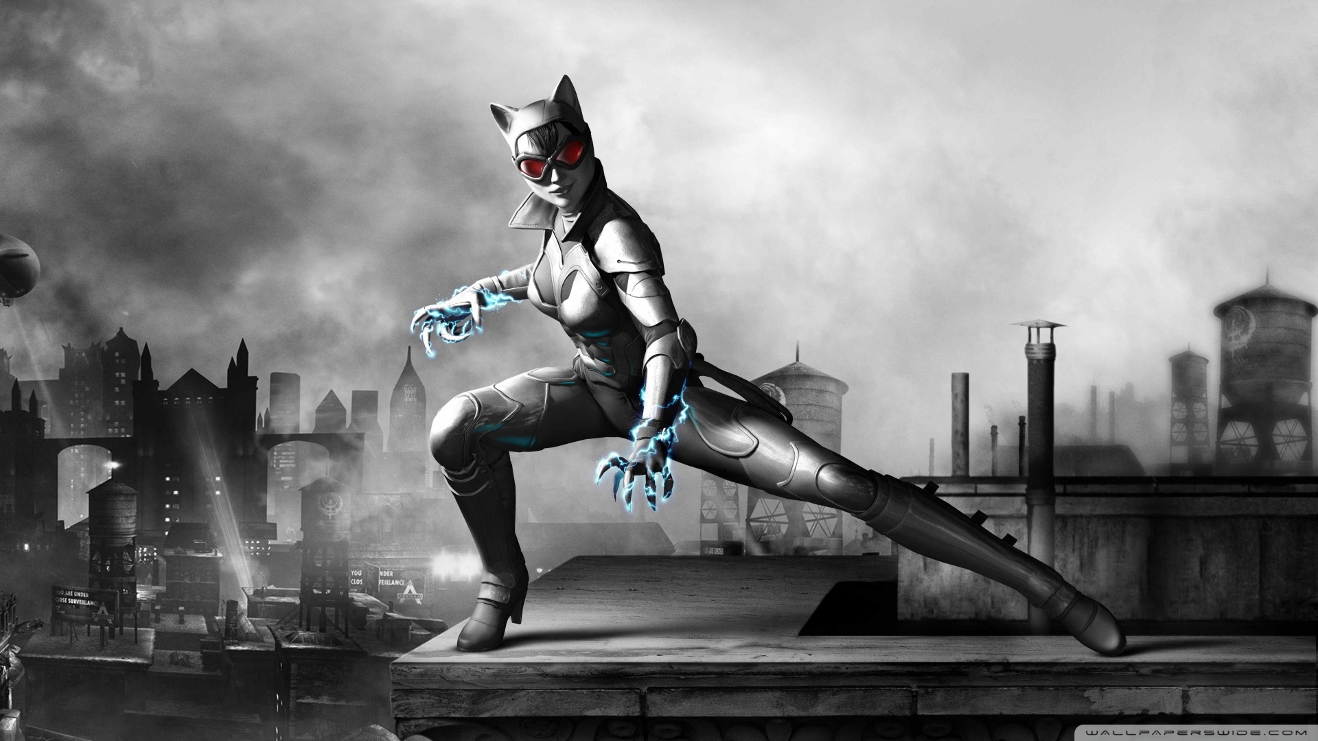 Batman Arkham City Armored Edition Catwomen Wallpaper 1920x1080 Batman 1920x1080