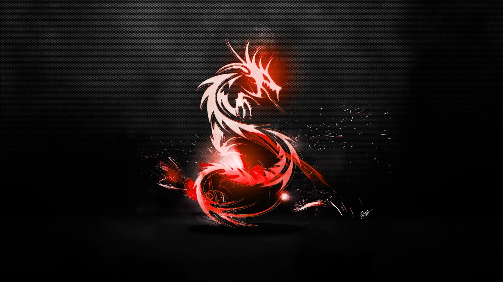 Red Dragon Gaming Wallpaper Wallpapersafari