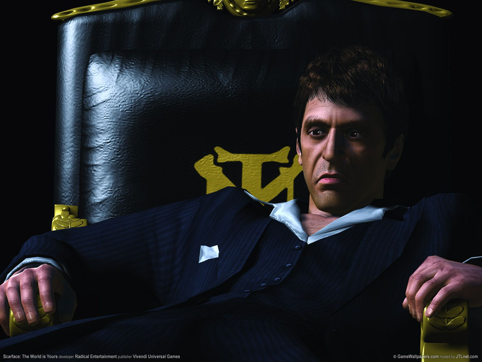 Scarface   The World is Yours Wallpaper scarface wallpaper HD 1600x1200