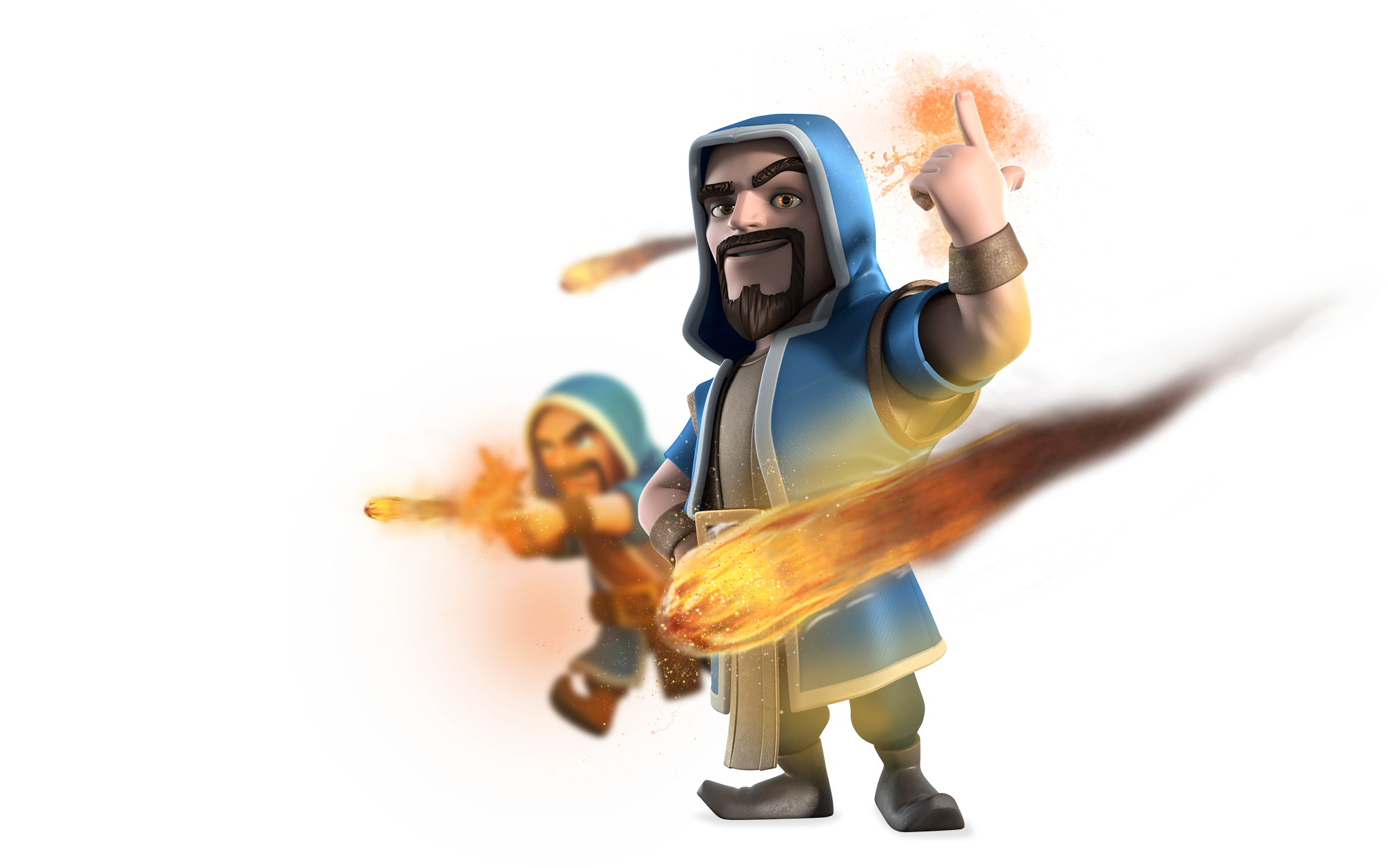 Clash of Clans Wizard Full HD Pictures 2048x1280