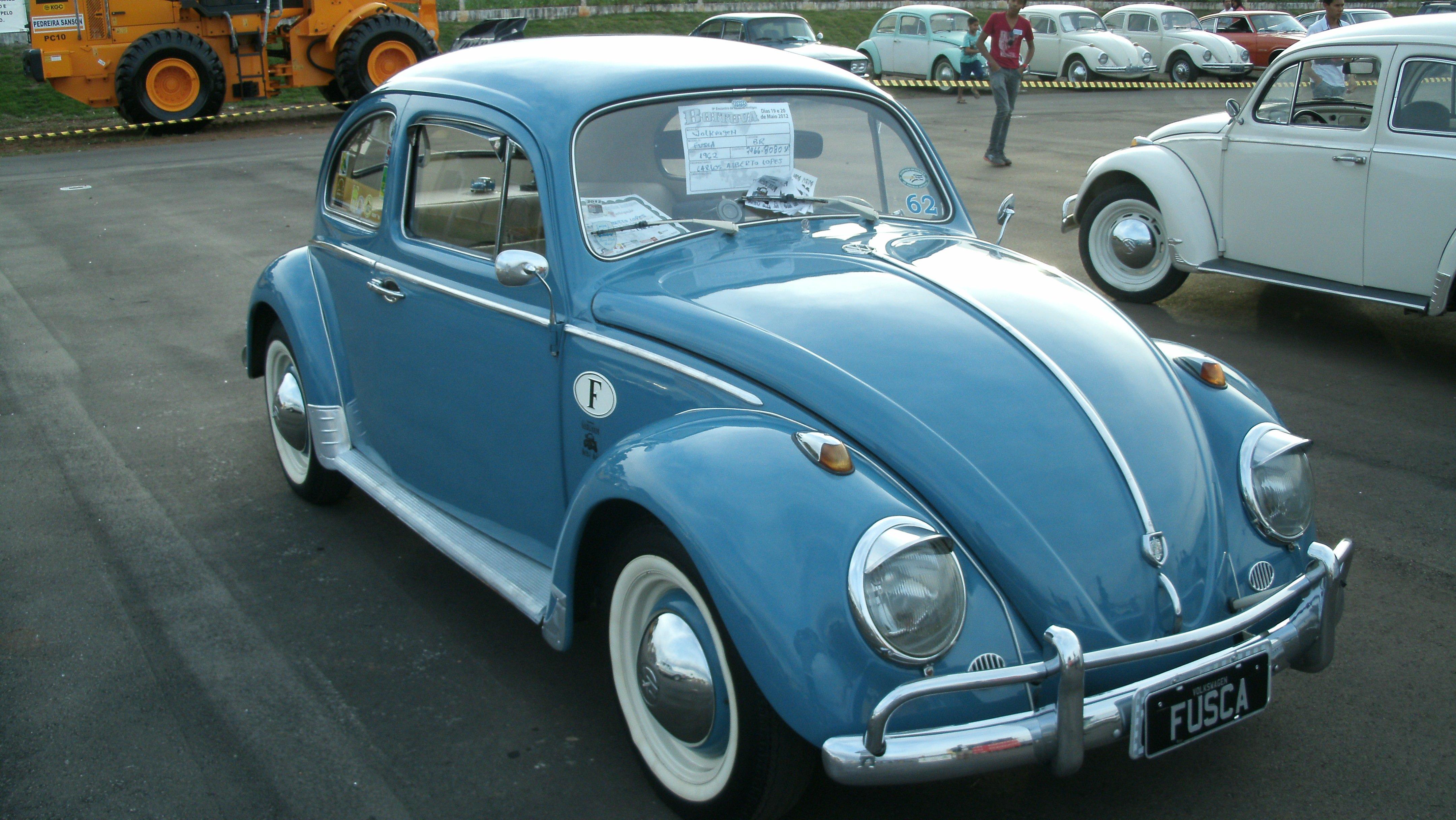 Download 1962 Volkswagen VW Beetle Fusca Brazilian Retro Classic 4320x2432