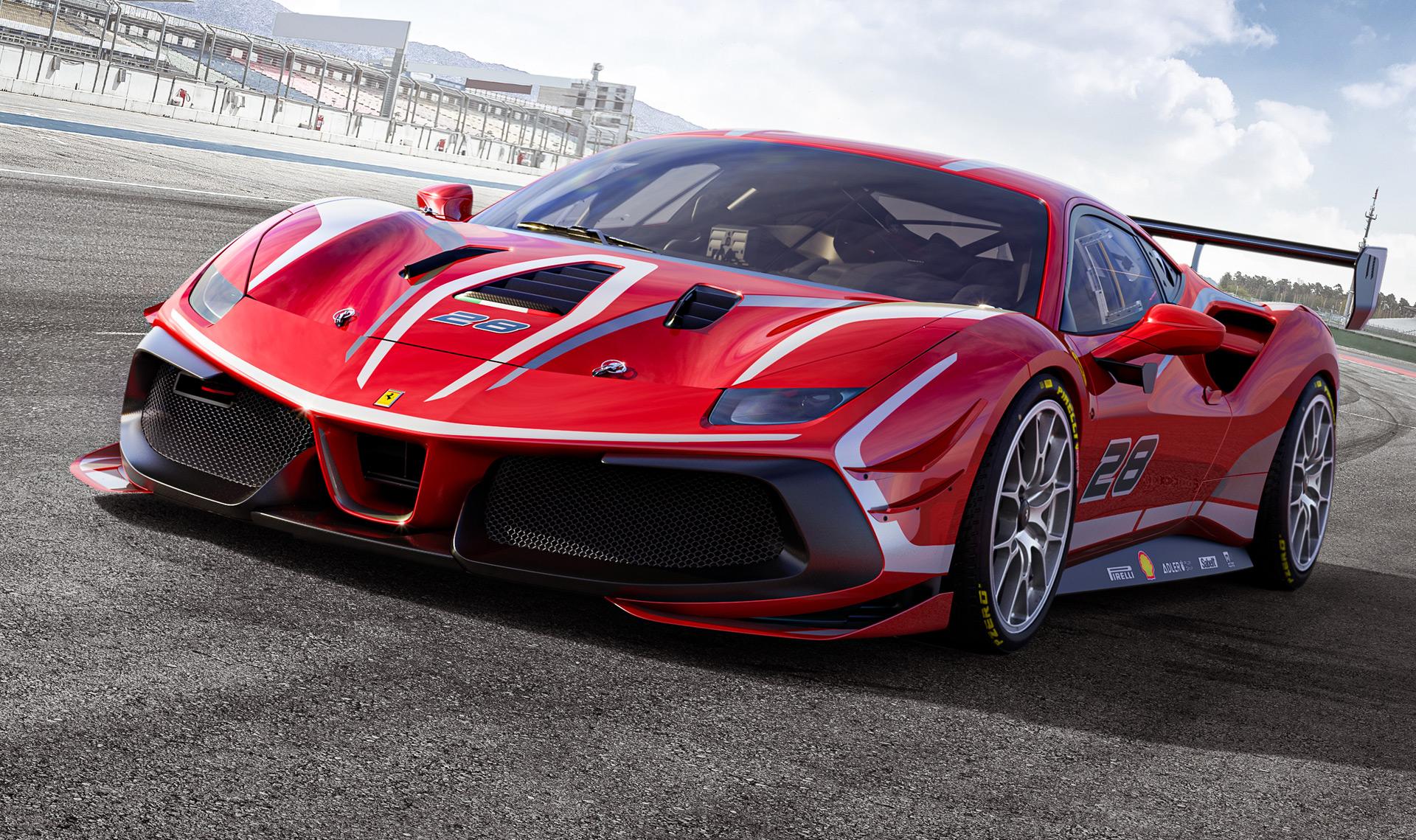 2020 Ferrari 488 Challenge makes debut 1920x1139