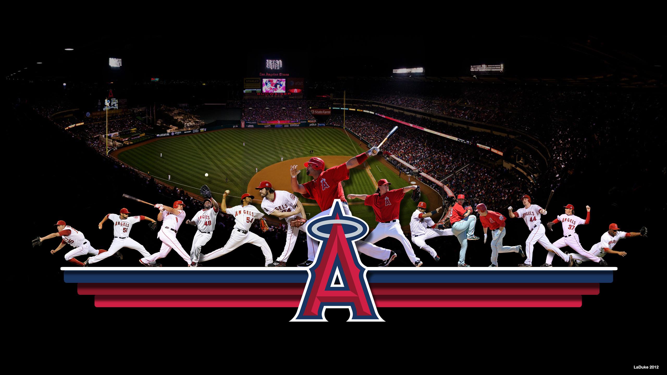 ANAHEIM ANGELS baseball mlb s wallpaper 2560x1440 2560x1440