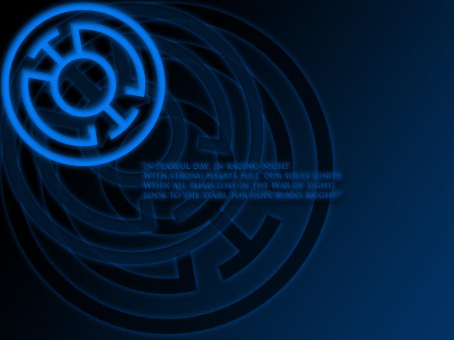 Blue Lantern Oath Wallpaper by stampedeofxflames 900x675