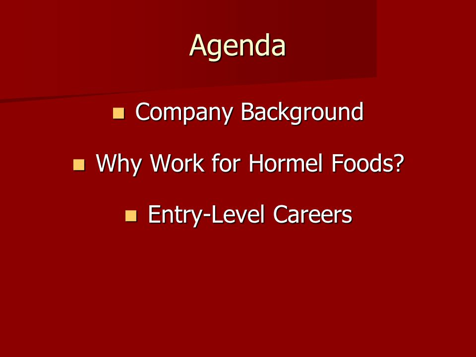 Exceed Your EXPECTATIONS Agenda Company Background Company 960x720
