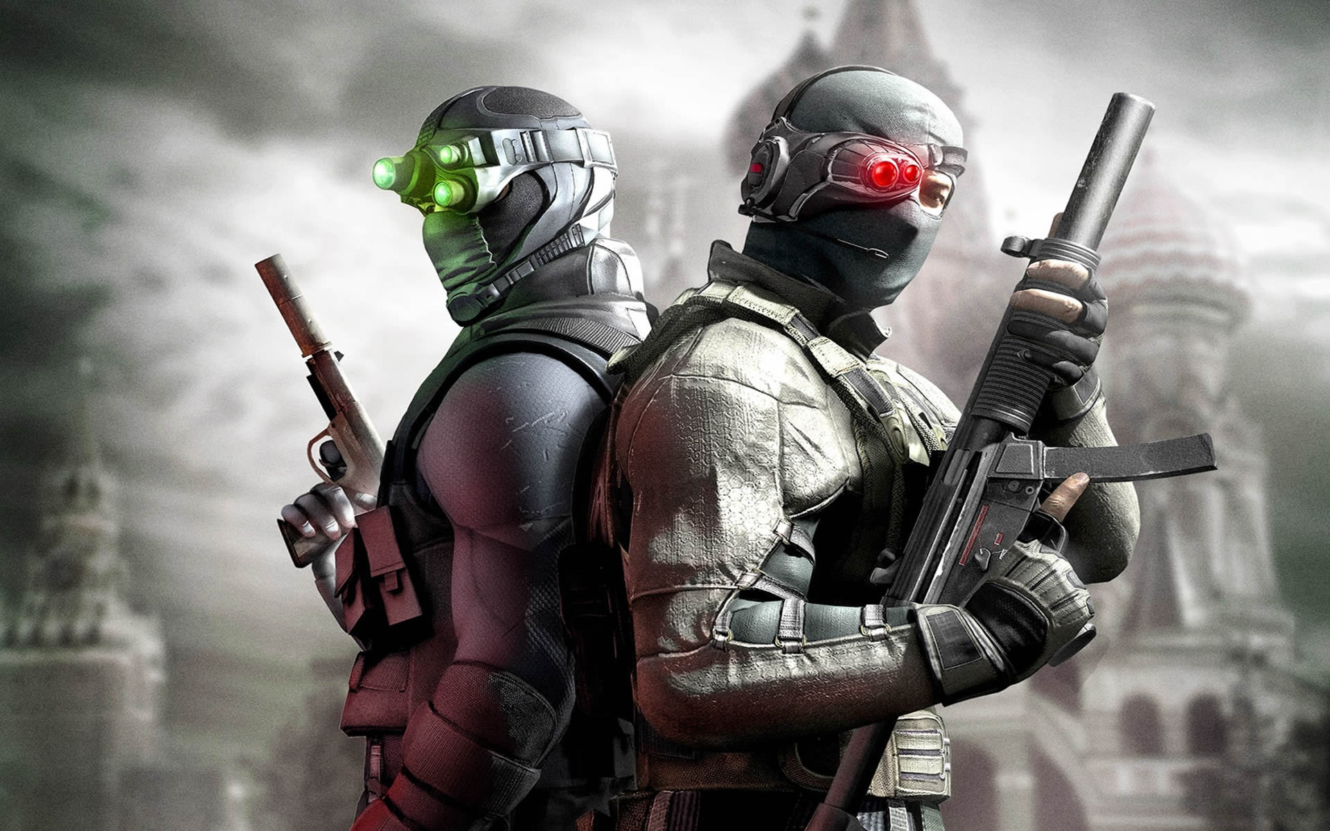 Green And Red Multiplayer   Splinter Cell Conviction Wallpaper 1920x1200