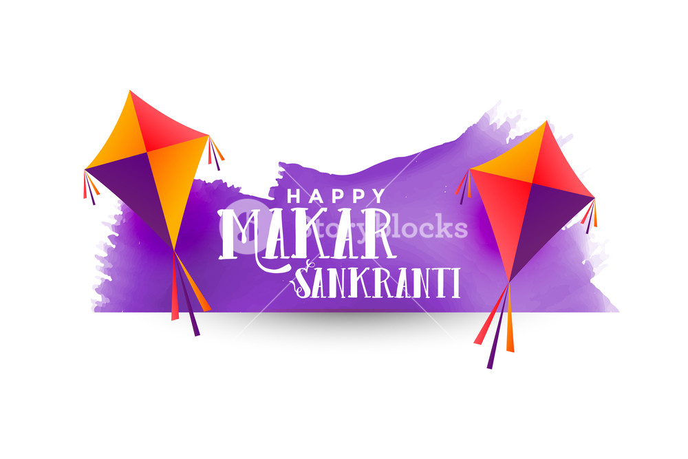makar sankranti background with kites Royalty  Stock Image 1000x667