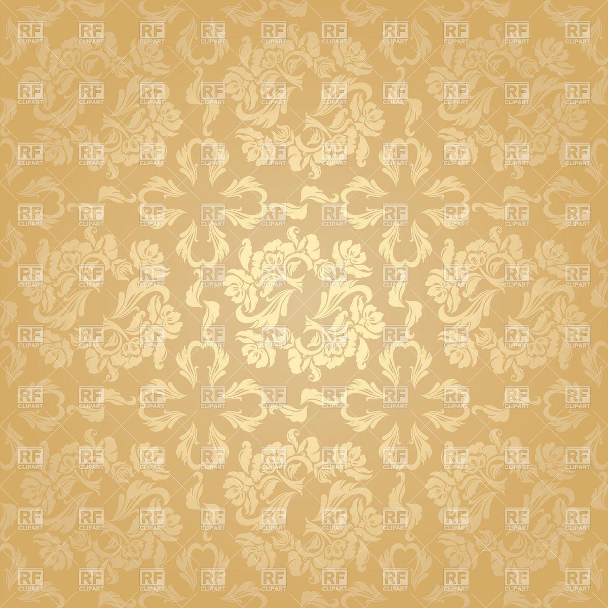 Seamless beige floral victorian wallpaper Backgrounds Textures 1200x1200
