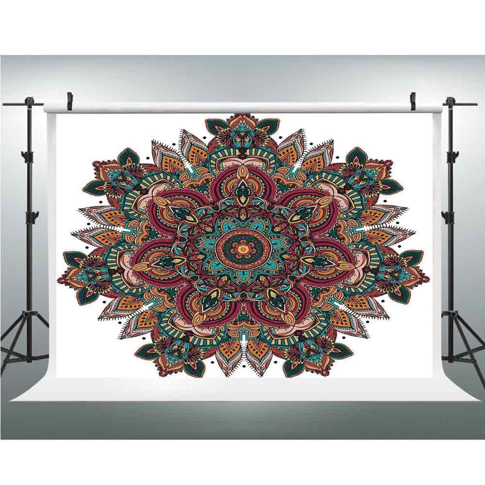 Amazoncom Seamless Vinyl Photo Backdrop Mandala Photography 1000x1000