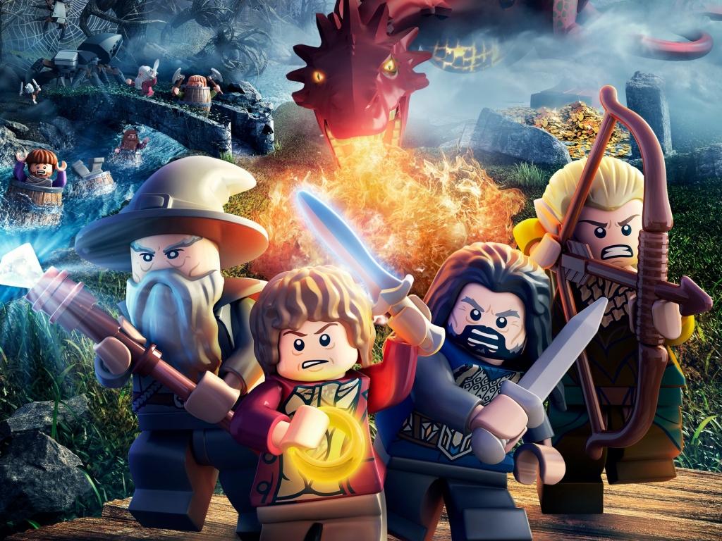 Lego the hobbit game 1024x768   Fondo hd 3226 1024x768