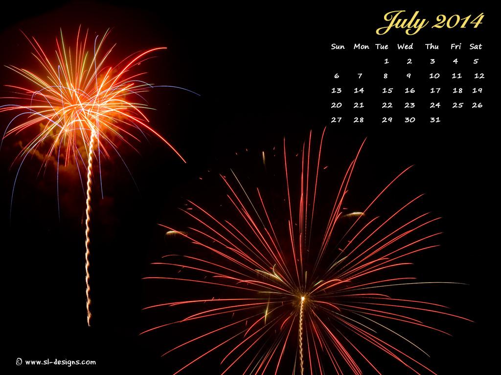 Download July calendar wallpaper for your desktop web site email or 1024x768
