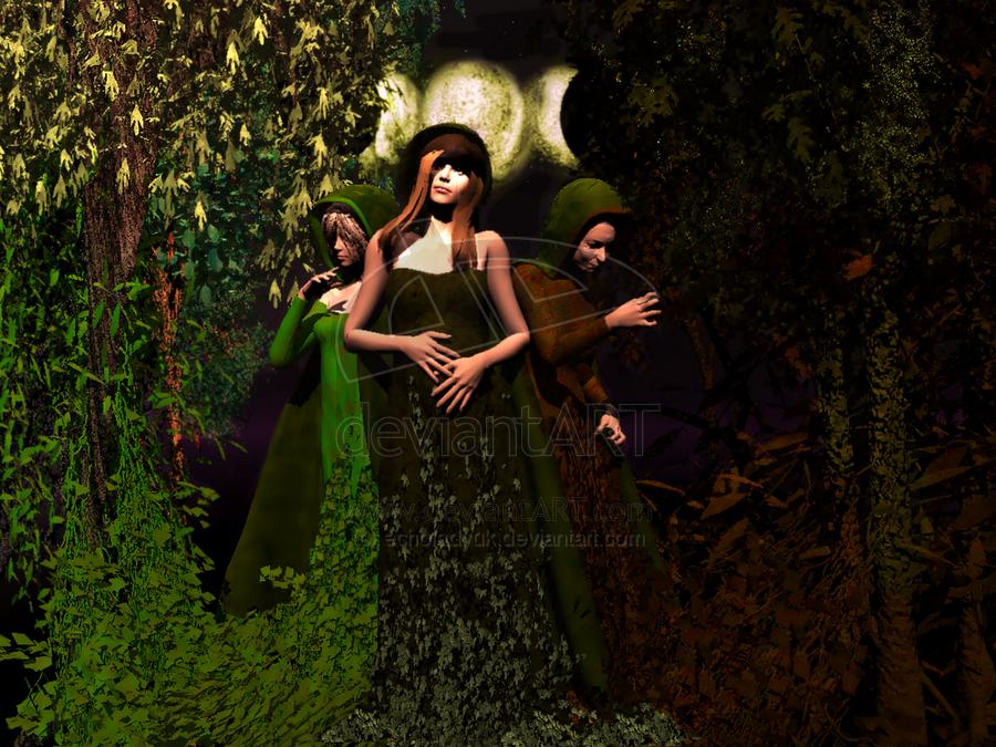 Wiccan Three Goddesses by echoladyuk 900x675