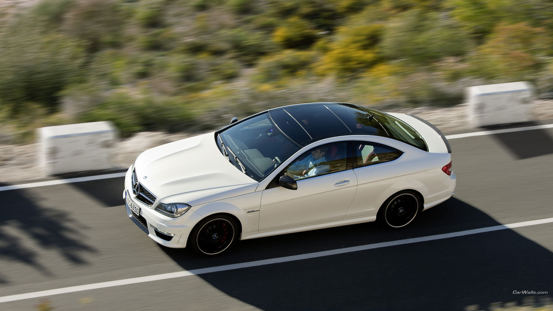 1 2012 Mercedes Benz C63 Amg Coupe HD Wallpapers 1920x1080