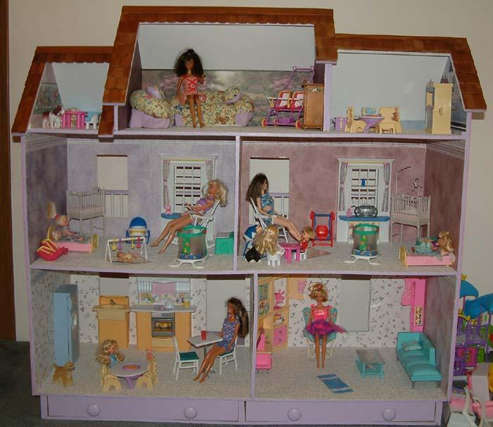 Doll House Cake Images : Barbie Dollhouse Wallpaper - WallpaperSafari