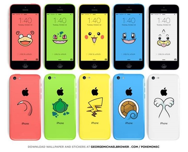 Turn Your iPhone 5c Into Your Very Own Pokmon With This Cool 600x485