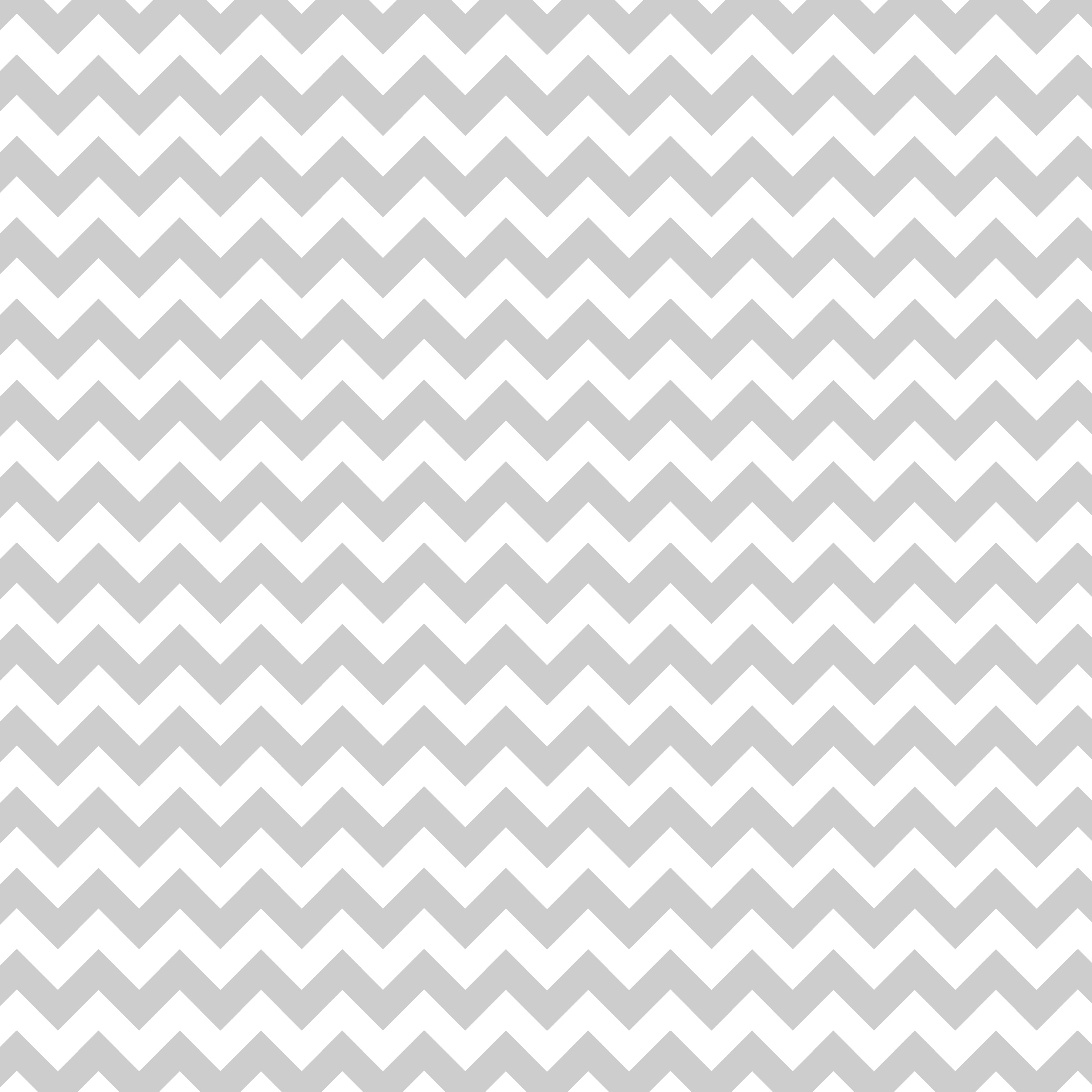 Grey and White Chevron 3600x3600