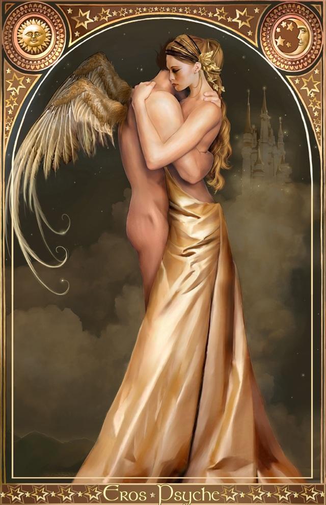 ErosPsyche  by BlacKeri 2D Mythology 640x991