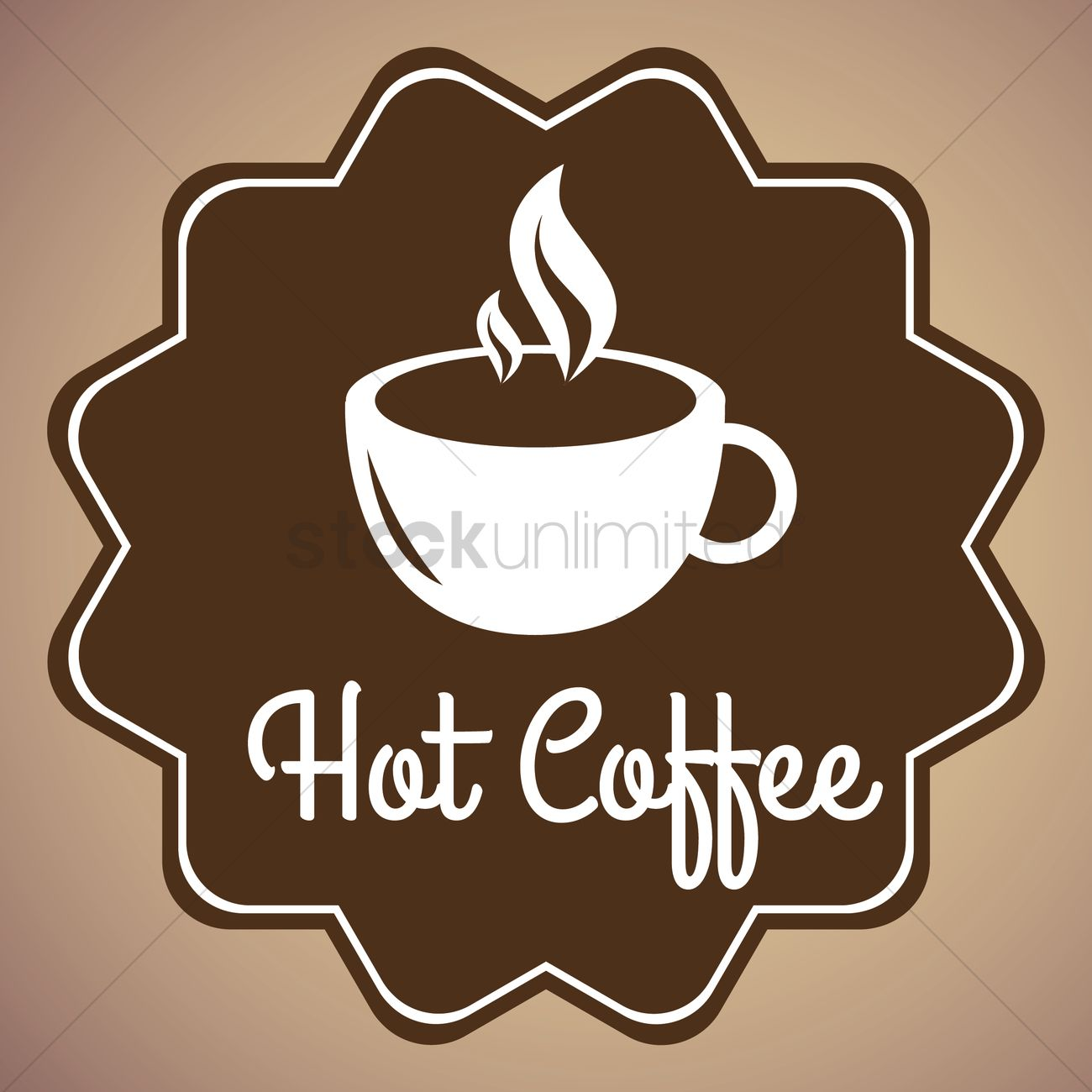 Coffee shop wallpaper Vector Image   1811771 StockUnlimited 1300x1300
