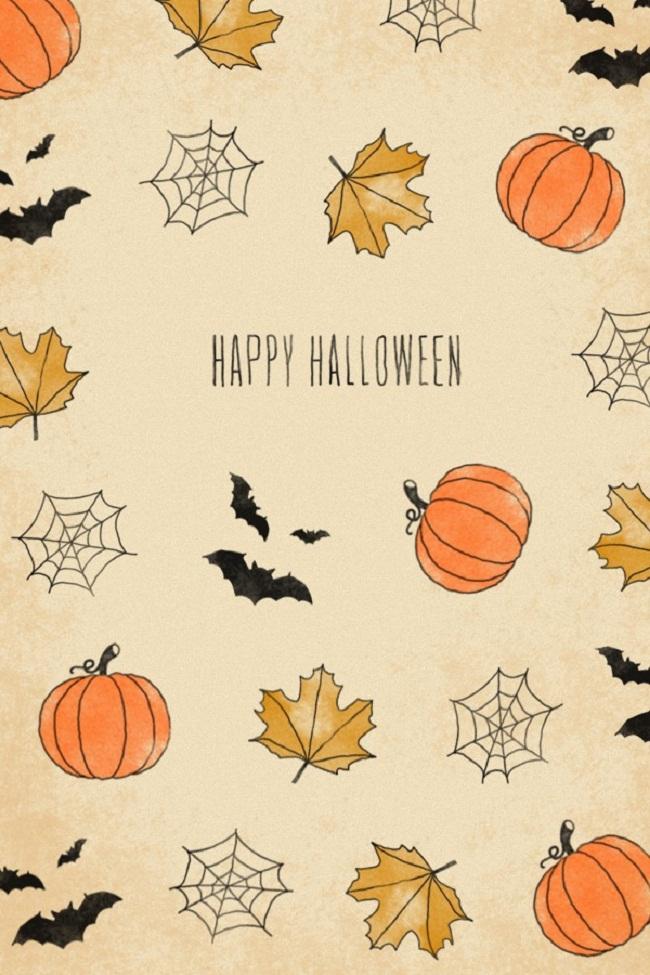 [50+] Cute Halloween Phone Wallpaper on WallpaperSafari