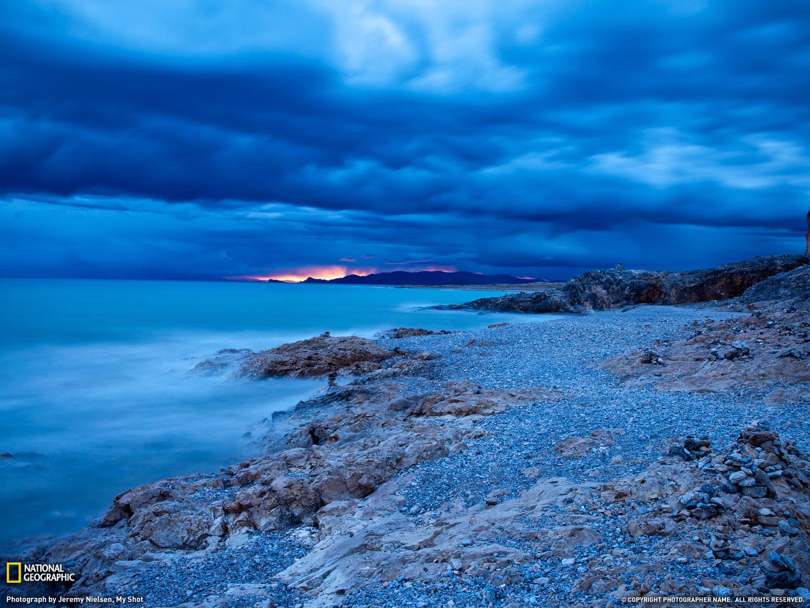 Namsto Lake Photo Tibet Wallpaper National Geographic 1600x1200