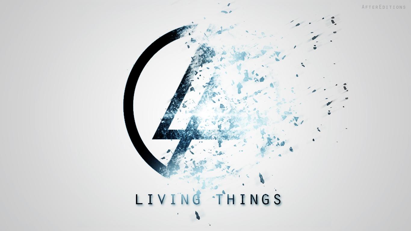 Linkin park Logowallpaper HD by Galaxy244 1366x768