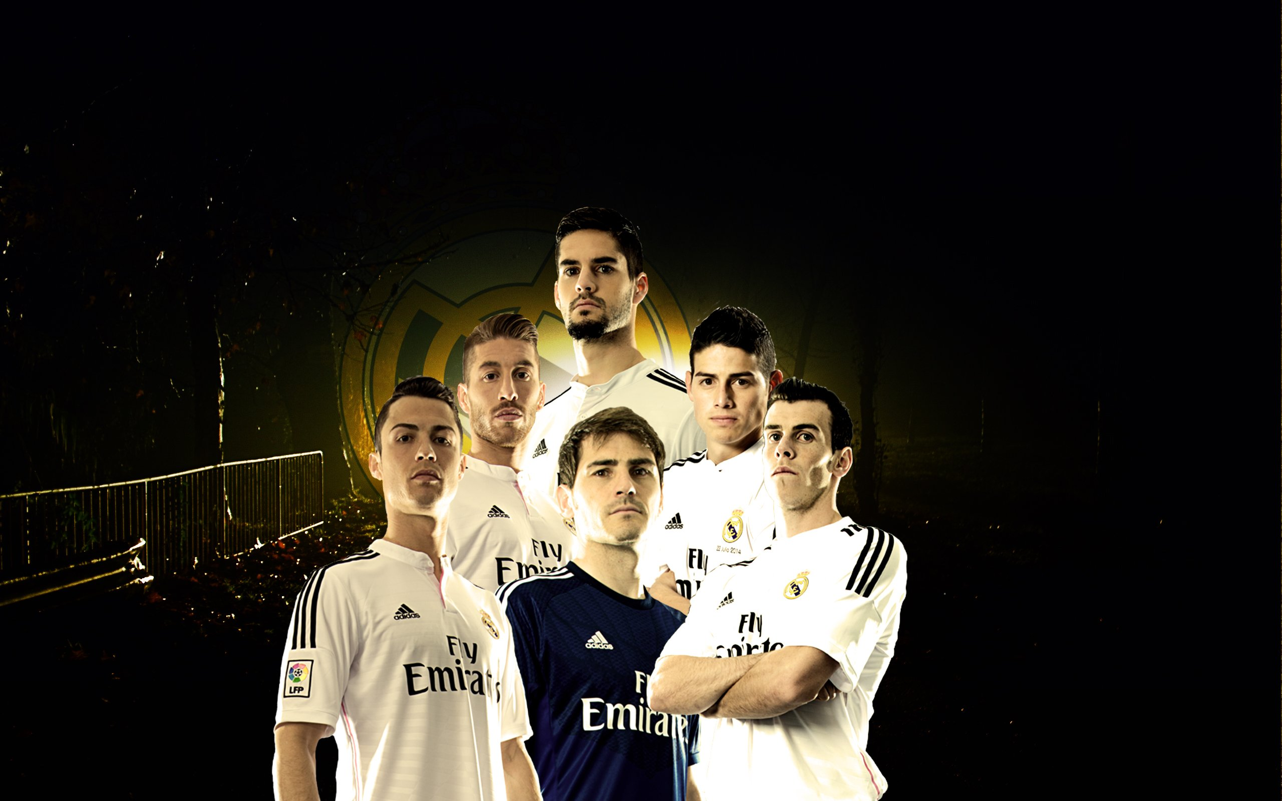 Real Madrid Team Wallpaper 2014 2015 By 2560x1600